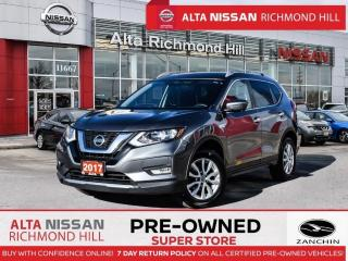 Used 2017 Nissan Rogue SV Tech   Navi   Pano   360 CAM   Heated Steering for sale in Richmond Hill, ON