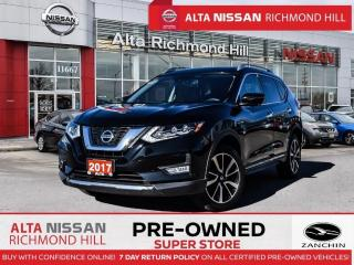 Used 2017 Nissan Rogue SL Plat. Reserve   360   Pano   Heated Steering for sale in Richmond Hill, ON