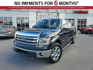 Used 2014 Ford F-150 Lariat, 4X4, NAV, Leather, Bluetooth, Sunroof. for sale in Niagara Falls, ON