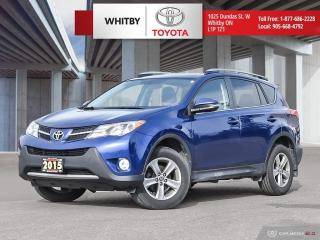 Used 2015 Toyota RAV4 XLE for sale in Whitby, ON