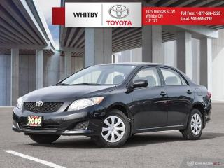 Used 2009 Toyota Corolla CE for sale in Whitby, ON