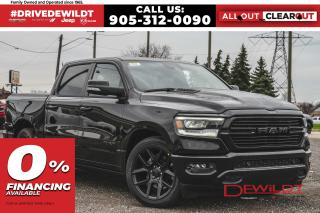 New 2021 RAM 1500 SPORT | LEATHER & SOUND | AIR RIDE | POWER BOARDS for sale in Hamilton, ON