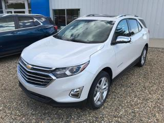 New 2021 Chevrolet Equinox Premier for sale in Roblin, MB