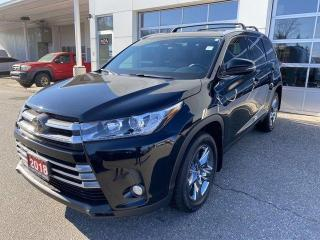 Used 2018 Toyota Highlander AWD limited for sale in North Bay, ON