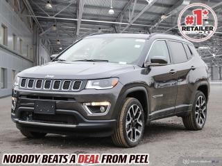 New 2021 Jeep Compass LIMITED for sale in Mississauga, ON