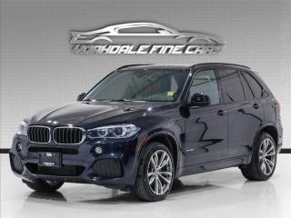 Used 2017 BMW X5 xDrive35d, M-Sport, Navi, Camera, Panoramic, No Accident for sale in Concord, ON
