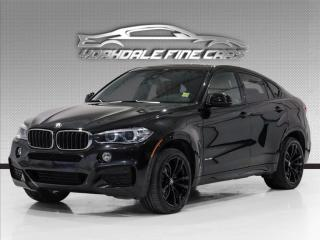 Used 2017 BMW X6 xDrive35i, M-Sport, M Performance, Navigation, Cam, Red Int for sale in Concord, ON