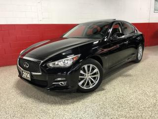 Used 2014 Infiniti Q50 AWD NAVI 360 BLIND SPOT CAMERA XENON'S SUNROOF for sale in North York, ON