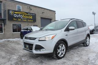 Used 2013 Ford Escape 4WD / SEL / NAV / LEATHER / BACK CAMERA / PARKING SENSORS for sale in Newmarket, ON