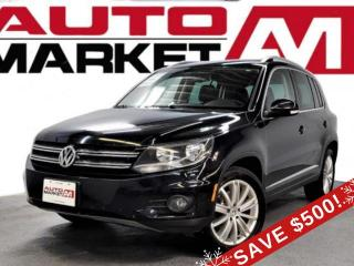Used 2014 Volkswagen Tiguan Premium Certified! Backup Camera! We Approve All Credit!! for sale in Guelph, ON