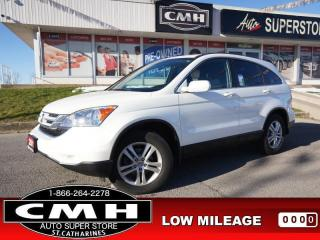 Used 2011 Honda CR-V EX  4WD PWR-SEAT ROOF CLIMATE 17-AL for sale in St. Catharines, ON