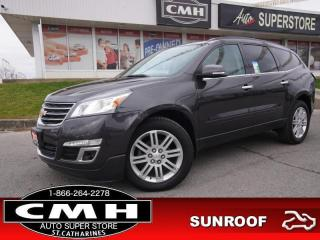Used 2013 Chevrolet Traverse 1LT  AWD CAM BT HTD-SEATS 20-AL for sale in St. Catharines, ON