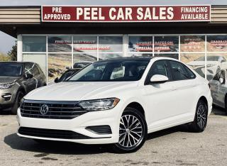 Used 2019 Volkswagen Jetta HIGHLINE|TEXT.US|647.678.7778| PANOROOF|LEATHER|REARVIEW| for sale in Mississauga, ON