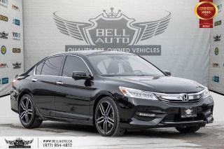 Used 2016 Honda Accord Sedan Touring, NO ACCIDENTS, NAVI, REAR CAM, B. SPOT. for sale in Toronto, ON