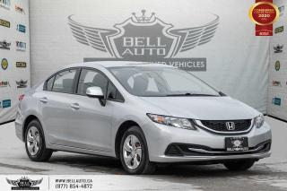 Used 2013 Honda Civic Sdn EX, NO ACCIDENT, REAR CAM, PWR MIRRORS, PWR WINDOWS for sale in Toronto, ON