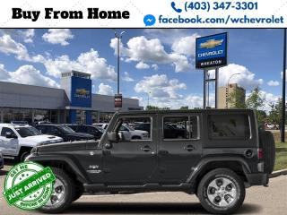 Used 2017 Jeep Wrangler JK Unlimited Sahara for sale in Red Deer, AB