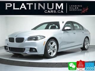 Used 2016 BMW 5 Series 528i xDrive, AWD, MSPORT, NAV, CAM, BT, HEATED for sale in Toronto, ON
