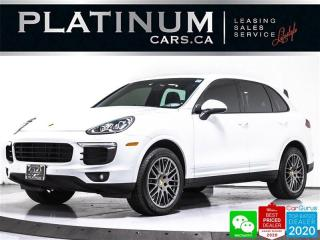 Used 2017 Porsche Cayenne Sport, AWD, PREMIUM PLUS, NAV, PANO, CAM, VENT, 20 for sale in Toronto, ON