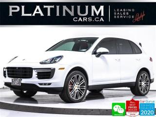 Used 2017 Porsche Cayenne Turbo, AWD, NAV, PREMIUM, HEATED, COOLED SEATS for sale in Toronto, ON