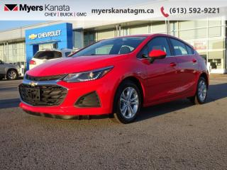 Used 2019 Chevrolet Cruze LT  - Apple CarPlay -  Android Auto for sale in Kanata, ON