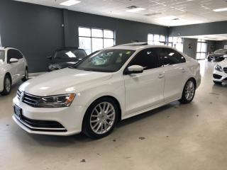 Used 2015 Volkswagen Jetta COMFORTLINE*SUNROOF*BLUETOOTH*ONE OWNER*LOW KM* for sale in North York, ON