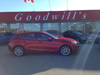 Used 2016 Mazda MAZDA3 GT! MANUAL! POWER ROOF! NAV! CAMERA! BT! for sale in Aylmer, ON
