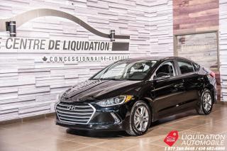 Used 2018 Hyundai Elantra GL+CAM/RECUL+SIEG/CHAUFF+GR/ELECT+BLUETOOTH for sale in Laval, QC