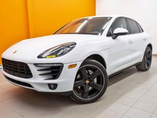 Used 2018 Porsche Macan S AWD *PREMIUM PACKAGE PLUS* NAV *TOIT PANO* PROMO for sale in St-Jérôme, QC