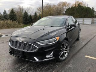 Used 2019 Ford Fusion Hybrid Titanium 2WD for sale in Cayuga, ON