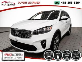 Used 2020 Kia Sorento EX* V6* AWD* CUIR* TOIT PANO* CARPLAY* for sale in Québec, QC