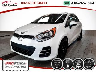 Used 2016 Kia Rio5 SX* CUIR* 5 PORTES* A/C* SIEGES CHAUFFAN for sale in Québec, QC