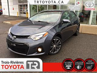 Used 2016 Toyota Corolla Berline 4 portes CVT S for sale in Trois-Rivières, QC