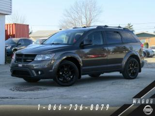 Used 2016 Dodge Journey SXT 2RM + BLACKTOP + 7 PASSAGERS + 3.6L! for sale in Magog, QC