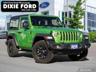 Used 2019 Jeep Wrangler SPORT for sale in Mississauga, ON