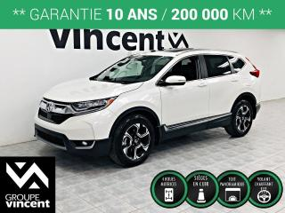 Used 2018 Honda CR-V TOURING AWD ** GARANTIE 10 ANS ** Découvrez la version la plus luxueuse du CR-V! for sale in Shawinigan, QC