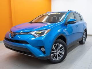Used 2018 Toyota RAV4 Hybrid XLE AWD *SIEGES CHAUF* CAMERA *GR. SECURITE* PROMO for sale in Mirabel, QC