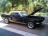 Photo of Black 1968 Ford Mustang