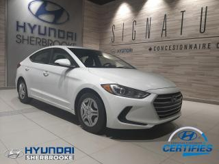 Used 2017 Hyundai Elantra LE AIR CLIM BANCS CHAUFFANTS BLUETOOTH for sale in Sherbrooke, QC
