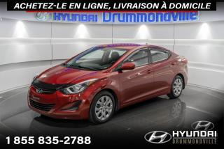Used 2015 Hyundai Elantra GL + GARANTIE + A/C + CRUISE + WOW !! for sale in Drummondville, QC