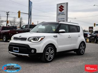 Used 2018 Kia Soul EX ~Nav ~Moonroof ~Heated Leather Seats + Wheel for sale in Barrie, ON
