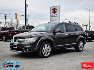 Used 2016 Dodge Journey R/T AWD ~7-Passenger ~Nav ~Cam ~Leather ~Moonroof for sale in Barrie, ON