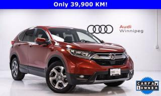Used 2018 Honda CR-V EX-L w/Leather & Sunroof *Low KM* for sale in Winnipeg, MB