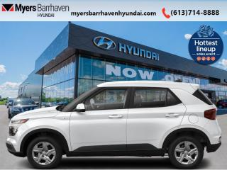 New 2021 Hyundai Venue Trend IVT  - Sunroof - $158 B/W for sale in Nepean, ON