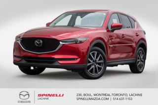Used 2018 Mazda CX-5 GT Tech Head up Display Cuir Systeme audio Bose Mazda CX-5 GT AWD 2018 for sale in Lachine, QC