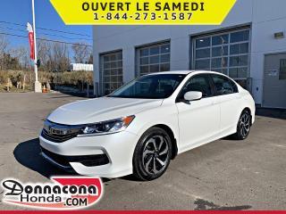 Used 2017 Honda Accord LX *GARANTIE 10 ANS / 200 000 KM* for sale in Donnacona, QC