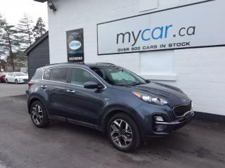 Used 2020 Kia Sportage EX SUNROOF, HEATED SEATS, ALLOYS, BACKUP CAM!! for sale in Richmond, ON