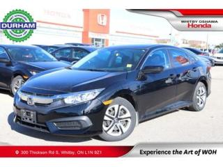 Used 2016 Honda Civic for sale in Whitby, ON
