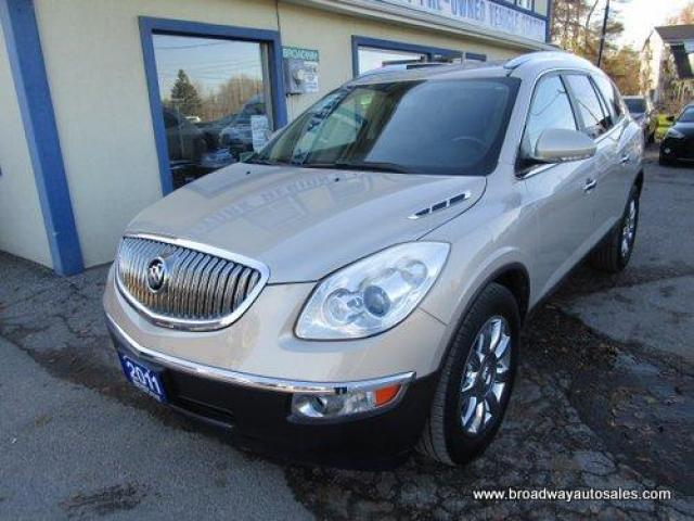2011 Buick Enclave ALL-WHEEL DRIVE CXL-2 EDITION 7 PASSENGER 3.6L - V6.. CAPTAINS.. THIRD ROW.. LEATHER.. HEATED/AC SEATS.. BACK-UP CAMERA.. DUAL POWER SUNROOF..