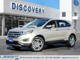 Used 2017 Ford Edge Titanium - AWD for sale in Burlington, ON