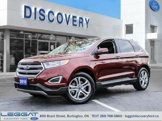 Used 2016 Ford Edge Titanium - FWD for sale in Burlington, ON